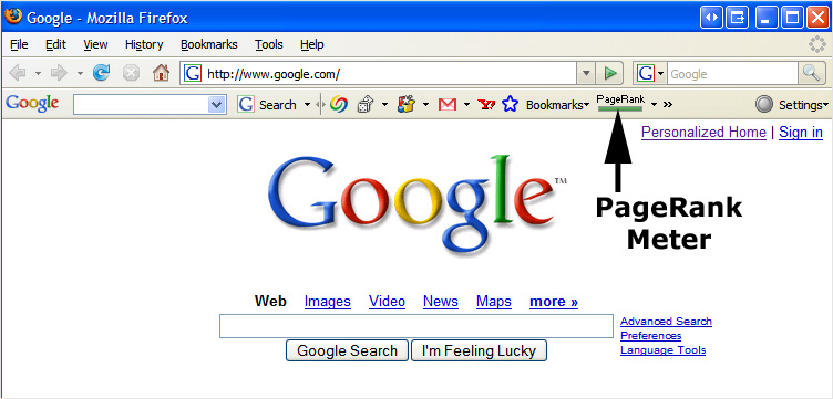 google-pagerank-old